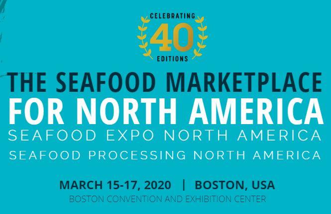 Nous serons présents au Seafood Show à Boston du 15 au 17 mars 2020 !