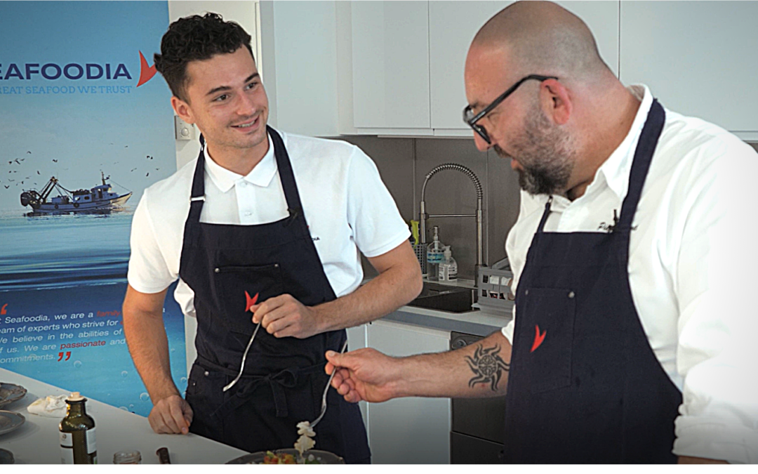 Recipe on video with our chef and our ambassador